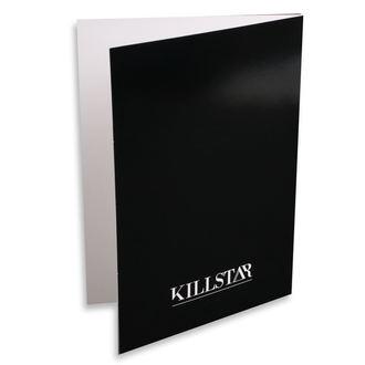 Glückwunschkarte KILLSTAR - Scorpio - SCHWARZ, KILLSTAR