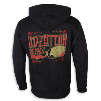 Herren Hoodie Led Zeppelin - Zeppelin & Smoke Black - NNM, NNM, Led Zeppelin