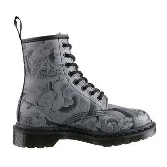 boty Dr. Martens - 8 dírkové - 1460 Ot Tattoo - Black/Gunmetal, Dr. Martens
