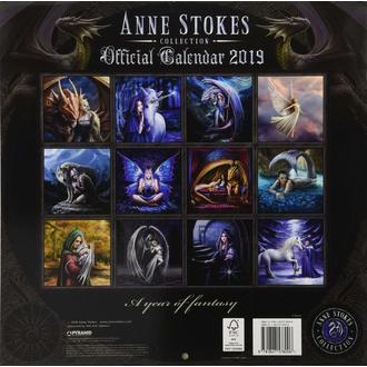 Wandkalender 2019 ANNE STOKES, ANNE STOKES