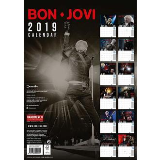 Wandkalender 2019 BON JOVI, NNM, Bon Jovi