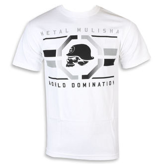 Herren T-Shirt Street - OCTAGON WHT - METAL MULISHA, METAL MULISHA
