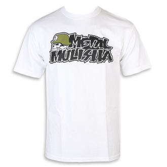 Herren T-Shirt Street - IKON WHT - METAL MULISHA, METAL MULISHA
