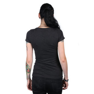 Damen T-Shirt Street - IKON SCOOP BLK - METAL MULISHA, METAL MULISHA