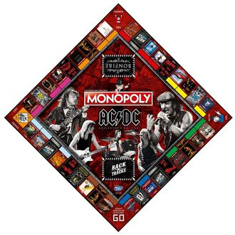 Brettspiel AC / DC - Monopoly, NNM, AC-DC