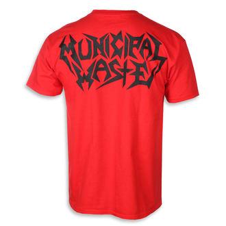 Herren T-Shirt Metal Municipal Waste - Skelbot red -, Municipal Waste