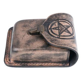 Gürteltasche Baphomet, Leather & Steel Fashion