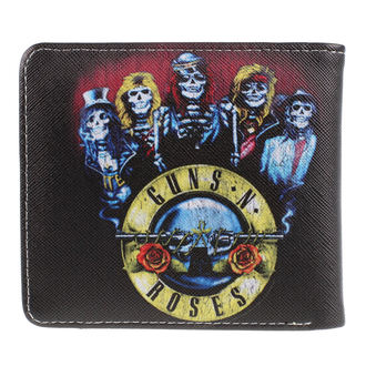 Geldbörse Guns N' Roses - Skeleton, NNM, Guns N' Roses