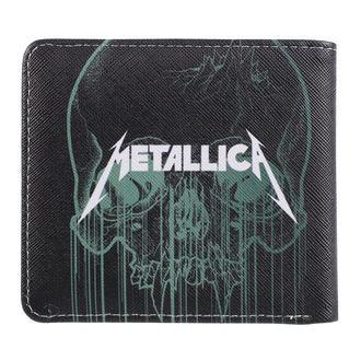 Geldbörse Metallica - Skull, NNM, Metallica