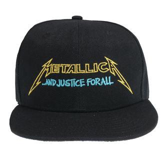 Kappe Cap Metallica - Justice Bright Starter - Schwarz, NNM, Metallica