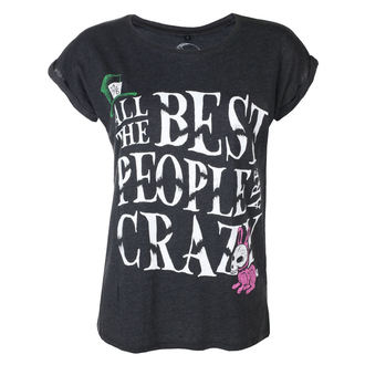Damen T-Shirt Hardcore - ALL BEST PEOPLE CRAZY - GRIMM DESIGNS, GRIMM DESIGNS