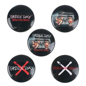 Ansteckbuttons Green Day - Revolution Radio - RAZAMATAZ, RAZAMATAZ, Green Day