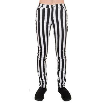 Herren Hose  3RDAND56th - Stripe Skinny - Blk/WHT, 3RDAND56th