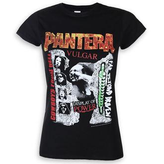 Damen T-Shirt Metal Pantera - 3 Albums - ROCK OFF, ROCK OFF, Pantera