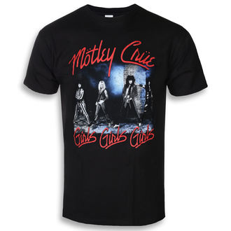 Herren T-Shirt Metal Mötley Crüe - Smokey Street - ROCK OFF, ROCK OFF, Mötley Crüe