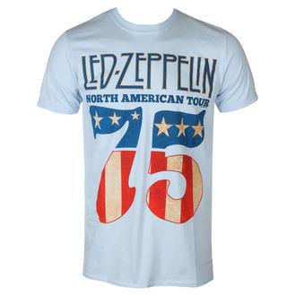 Herren T-Shirt Metal Led Zeppelin - 1975 North American Tour - NNM, NNM, Led Zeppelin