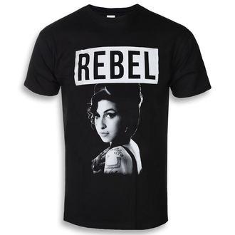 Herren T-Shirt Metal Amy Winehouse - Rebel - ROCK OFF, ROCK OFF, Amy Winehouse