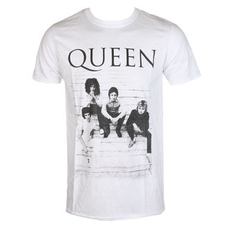 Herren T-Shirt Queen - Stairs - ROCK OFF, ROCK OFF, Queen