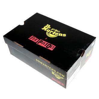 boty DR.MARTENS - 8 dírkové - Sex Pistols - backhand straw grain