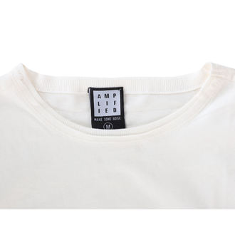Damen T-Shirt BLONDIE - AHOY 80`S - JAHRGANG WEISS - AMPLIFIED