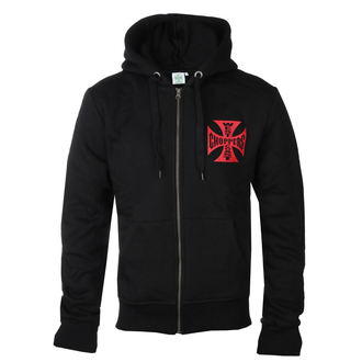 Herren Hoodie - RED OG CROSS - West Coast Choppers, West Coast Choppers