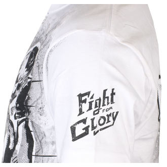 Herren T-Shirt ALISTAR - Fight for Glory - Weiß, ALISTAR