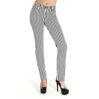 (unisex) Hose 3RDAND56th - Striped Skinny - BLK/WHT, 3RDAND56th