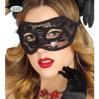 Maske SEXY SCHWARZ