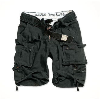 Shorts SURPLUS - DIVISION SHORT - BLACK, SURPLUS