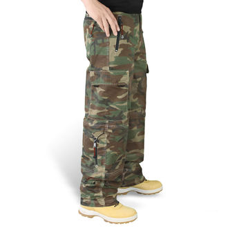 Hose SURPLUS - Trekking Trouser - WOODLAND, SURPLUS