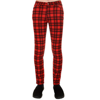 (unisex) Hose 3RDAND56th - Checked - Black/Red