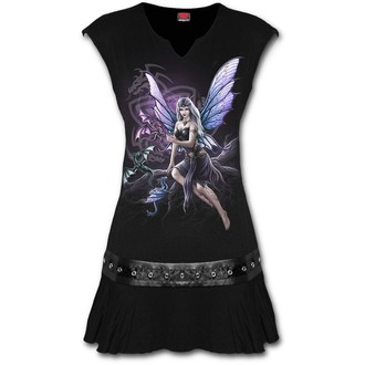 Damen Kleid SPIRAL - DRAGON KEEPER - Schwarz, SPIRAL