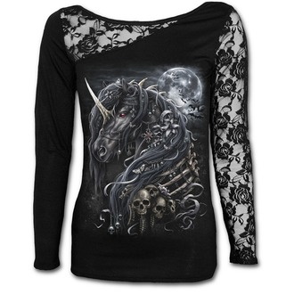 Damen T-Shirt - DARK UNICORN - SPIRAL, SPIRAL