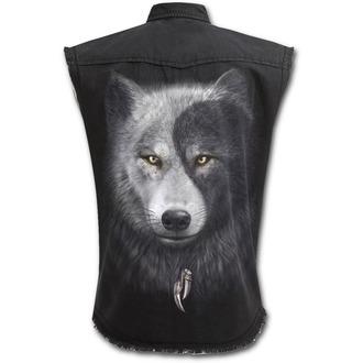 Herren Hemd ärmellos SPIRAL - WOLF CHI, SPIRAL
