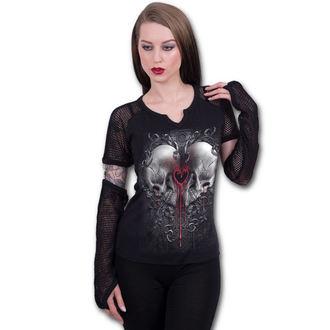 Damen T-Shirt - LOVE AND DEATH - SPIRAL, SPIRAL