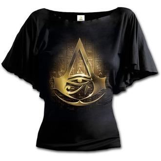 Damen T-Shirt Film Assassin's Creed - ORIGINS LOGO - SPIRAL, SPIRAL