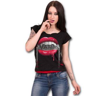 Damen T-Shirt - FANGS - SPIRAL, SPIRAL