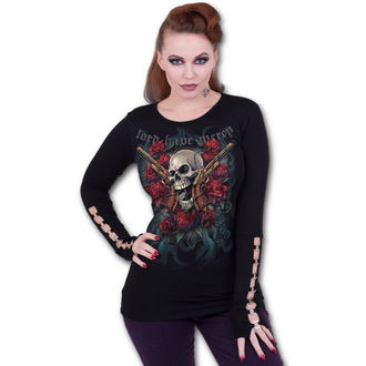 Damen Longsleeve - LORD HAVE MERCY - SPIRAL, SPIRAL
