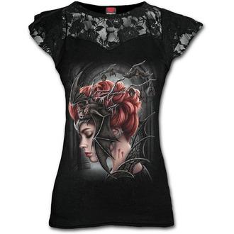 Damen T-Shirt - QUEEN OF THE NIGHT - SPIRAL, SPIRAL