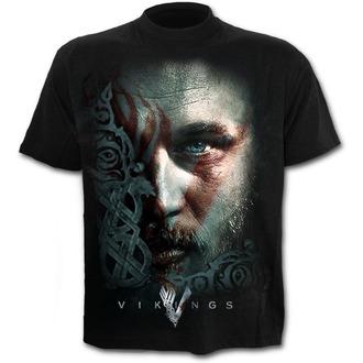 Herren T-Shirt Vikings - RAGNAR FACE - SPIRAL, SPIRAL