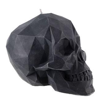 Kerze Skull - Black