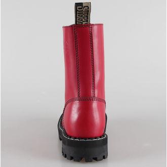 Boots STEEL Springerstiefel - 10 Loch rot bunt (105/106 Full Red)