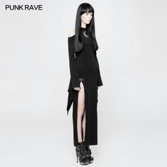Damen Kleid PUNK RAVE - Lunaria long Gothic, PUNK RAVE