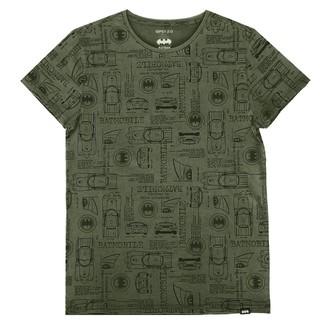 Herren T-Shirt Film Batman - OLIVE -