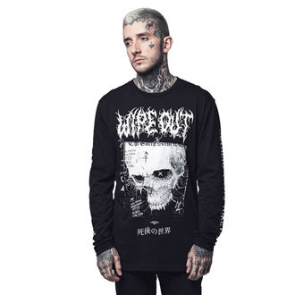 Unisex Hardcore Longsleeve - WIPE OUT - DISTURBIA, DISTURBIA