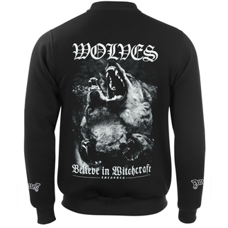 Herren Sweatshirt Hardcore - WOLVES - AMENOMEN, AMENOMEN