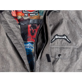 Winter Metal Jacke (Snowboardjacke ) METALLICA x SESSIONS