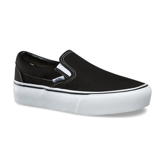 Damen Low Sneaker VANS - UA CLASSIC SLIP-ON PLATFORM Black, VANS