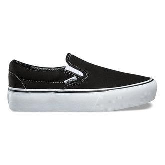 Damen Low Sneaker VANS - UA CLASSIC SLIP-ON P Black, VANS