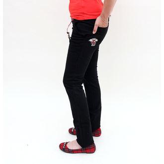 Damen Hose  EMILY THE STRANGE - Emily Mad Youth Plaid Stoveppie Jeans, EMILY THE STRANGE